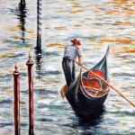 Gondoliere veneziano