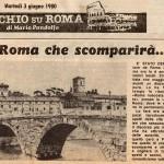 Articolo da Occhio su Roma