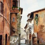 Via Cecilia Metella a Trastevere