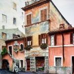 Vecchie case in Trastevere