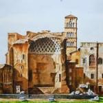 Il Tempio di Venere sul Palatino