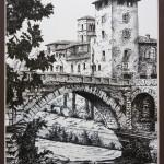 Il Ponte Fabricio Incisione