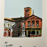 S. Bartolomeo all'Isola serigrafia